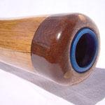 aufgesetztes Mundstück mit blauem Adapter Mundstückgröße