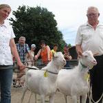 links Stefanie Eberhardt, rechts Dieter Schneider