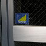 ALSOK補助錠付き