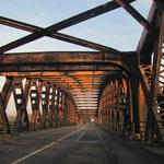 Rheinbrücke Wintersdorf, © Fotos Peter Diziol