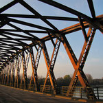 Rheinbrücke Wintersdorf, © Foto Peter Diziol