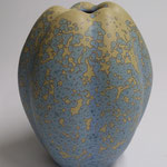 Grand vase courge bleu - 570€ - 24 x 18 x 18 cm