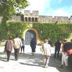 Entrée du château de Fayrac