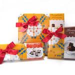 イーグル製菓 2016バレンタイン商品 包装紙柄デザイン