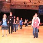 Un magnifique plancher de danse...