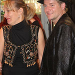 Guylaine Bourdages et le chanteur Ian Scott
