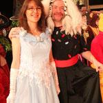 Séverine Moulin en princesse de conte de fée...