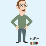 character herr meier - client: hannoversche / how2 ag
