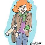 character grünplanerin - client: landeshauptstadt münchen