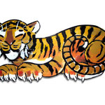 TIGER ON WOOD / CLIENT: HOUSE FOR CHILDS M.I.