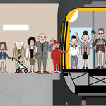 RUSHHOUR / VIDEO ILLUSTRATION / CLIENT: STUTTGARTER VERKEHRSBETRIEBE / HOW2 AG