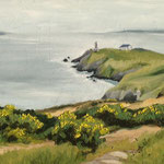 Howth Head Cliffs, Öl (verkauft/ sold)