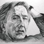 Alan Rickman, Bleistift (FOR SALE / ZU VERKAUFEN)