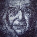 alter Mann, Kugelschreiber
