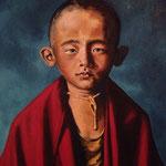 junger Mönch, Öl (zu verkaufen/ for sale)