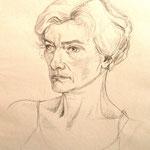 Ines, Bleistift