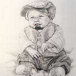 Kind, Bleistift (Auftragsarbeit)
