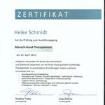 Ziemer und Falke- Mensch-Hund-Therapieteam