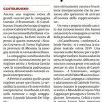 Compagnia Teatrale fa incetta di premi (Giornale di Sicilia del 29 agosto 2019).
