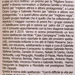 """Continua il periodo d'oro della Compagnia """"I Frastornati"""" (Suprauponti del 22 agosto 2019)."""