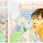 2002, yang yang, watercolour