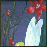 2005, triptych, acrylic on canvas