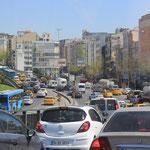 Einfahrt nach İstanbul
