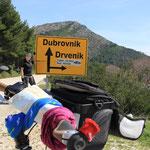 Es ist nicht mehr so weit bis Dubrovnik!