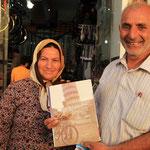 Er fuhr mit einem Dreigaenger vom Iran bis nach Europa!