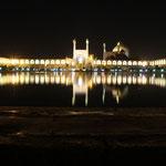 Dieser Imam-Platz gehoert zu den groessten Sehenswuerdigkeiten des Vorderen Orients...UNESCO -Weltkulturerbe