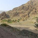 Ein seltsames Gefuehl zu wissen, dass das da drueben Afghanistan ist...