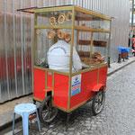 Der Brezelkönig und sein Mobil :)
