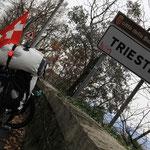 ...und dann Hallo Trieste!