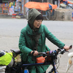 Frau Chinesin fährt gleich mal nach Peking