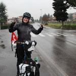 Wir fahren trotz dem Wetter weiter...es beginnt uns schon zu gefallen ;)