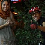 Den ersten iranischen Tourenfaher den ich treffe :)