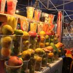 Portionierter, rationierter und pionierter Fruchtsaft mmmm