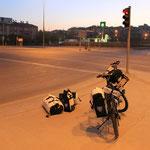 Morgens um 05.00 Uhr an einer Kreuzung in Ankara...welche? Das weiss ich eben auch nicht...