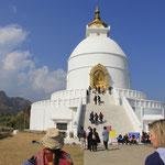 World Peace Pagoda, es gibt weltweit über 80 davon, sie soll dazu beitragen, dass alle Menschen gemeinschaftlich nach Frieden auf der Welt streben