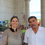 Dieser nette Turkmene versuchte fuer uns ein Ticket zu organisieren...jedoch ohne Erfolg, aber merci trotzdem :)