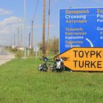 nicht mehr weit bis Turkey...