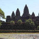 Der Ankor Wat...die groesste und bekannteste Tempelanlage in Kambodscha
