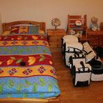 Ein richtiges Bett! Mit richtigem Duvet!!! Suuper!