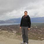 Auf dem Krater
