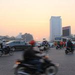 Morgens um 06.00 Uhr in Hanoi
