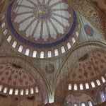 In the blue Mosque