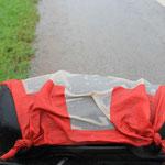 In der Schweiz regnets...