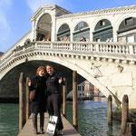 Stephy zu Besuch für ein paar Stunden in Venedig, das war suuper!