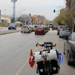 Einfahrt nach Thessaloniki