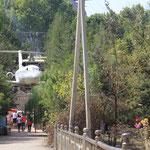 Flugplatz im Gruenen in Osh